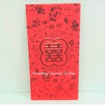 (2pc) Red Stamped Angpow XL Size